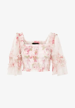 RUBY BLOOM SMOCKED - Blouse - butterfly blush