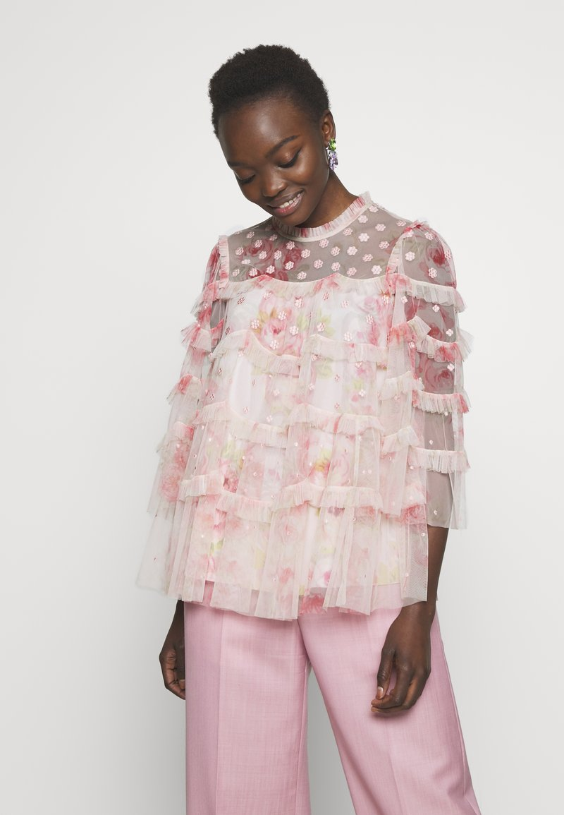 Needle & Thread - RUBY BLOOM - Blus - pink