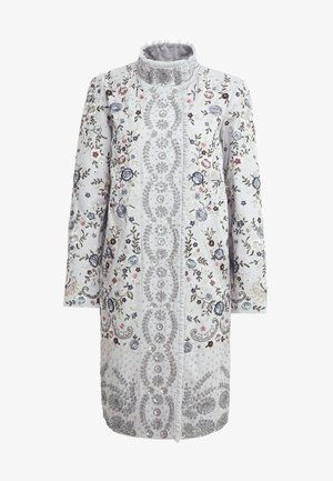ELLA PATCHWORK PANELLED COAT - Mantel - dusk blue