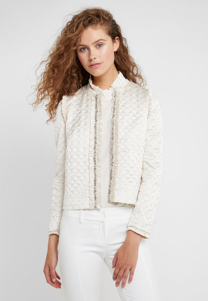 Needle & Thread - QUILTED  - Blazer - champagne