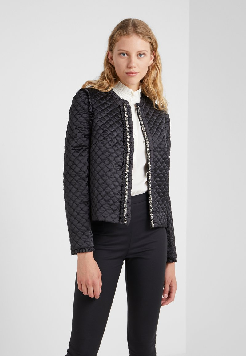 Needle & Thread - QUILTED  - Blazer - graphite