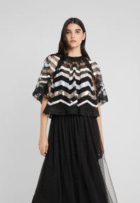 Needle & Thread - ALASKA  - Poncho - ballet black - 0