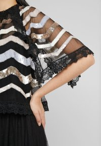 Needle & Thread - ALASKA  - Poncho - ballet black