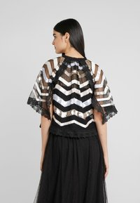 Needle & Thread - ALASKA  - Poncho - ballet black - 2