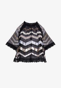 Needle & Thread - ALASKA  - Poncho - ballet black - 4