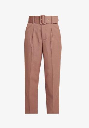LUCINDA PANTS - Kalhoty - cork