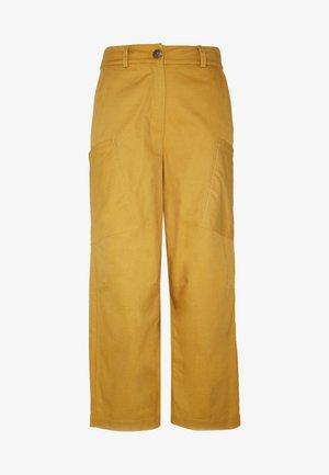 NUBIZZY PANTS - Bukser - yellow