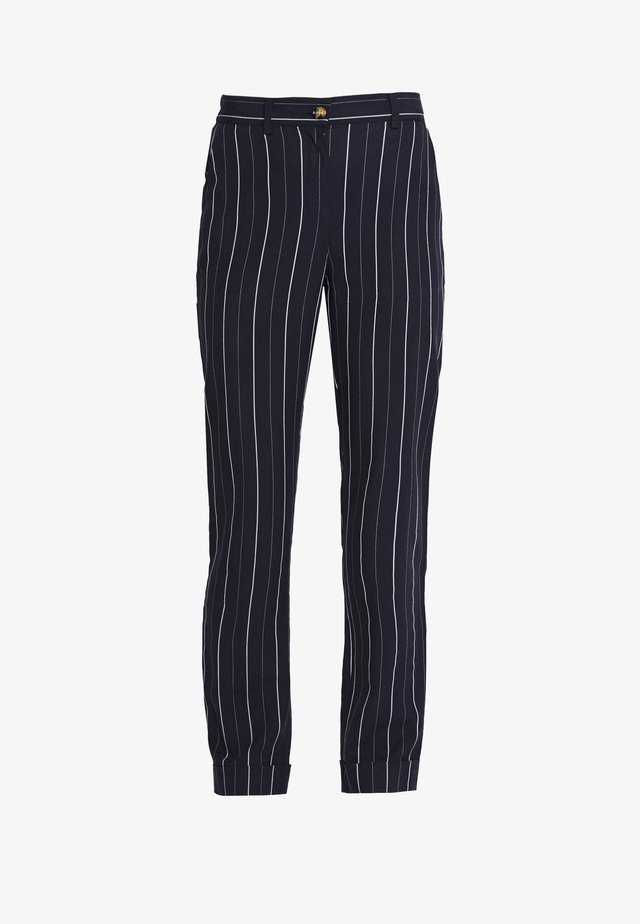 ALYVIA PANTS - Trousers - dark blue