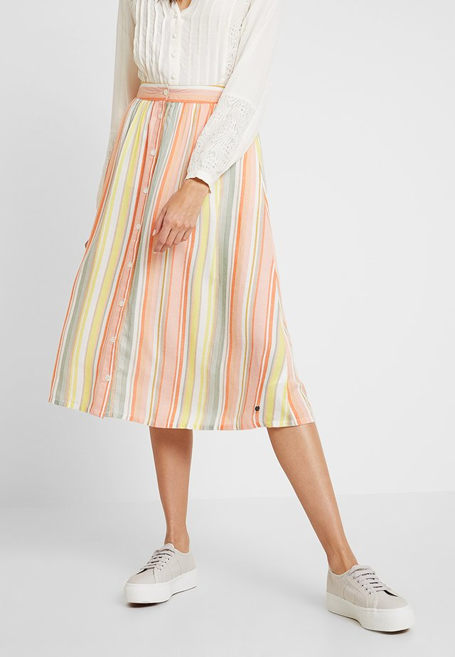 KIRA SKIRT - A-Linien-Rock - peach