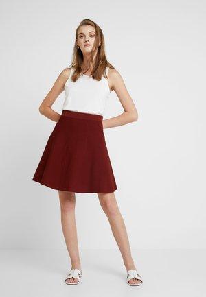 NEW LILYPILLY SKIRT - Áčková sukně - fired brick