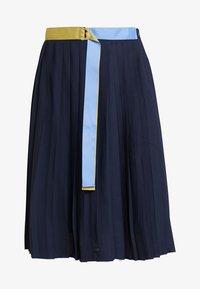 Nümph - LIESEL SKIRT - Áčková sukně - dark sapphire - 3