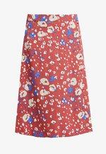 NUMEDRIE SKIRT - Áčková sukně - mahogany