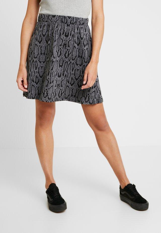 NUARMEL SKIRT - A-line skirt - caviar