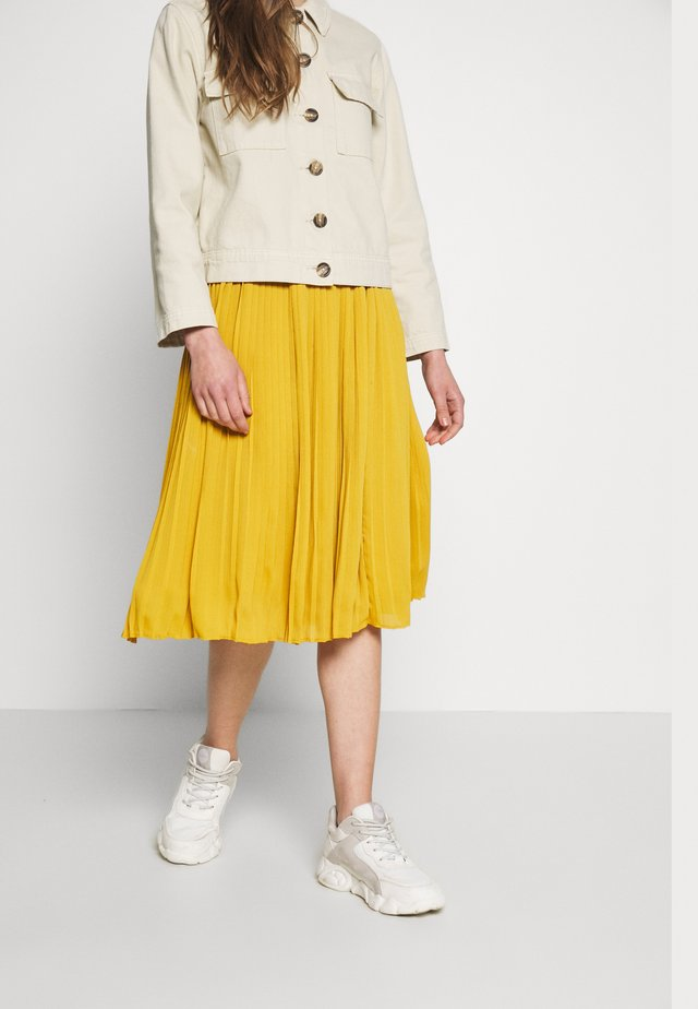 NUALBERTE SKIRT - Áčková sukně - tawny orange