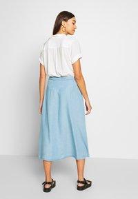 Nümph - AHNA SKIRT - Áčková sukně - blue - 2