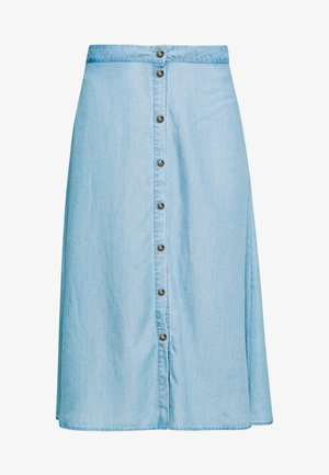 AHNA SKIRT - Áčková sukně - blue