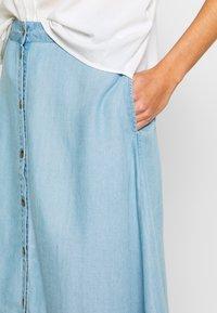 Nümph - AHNA SKIRT - Áčková sukně - blue - 3