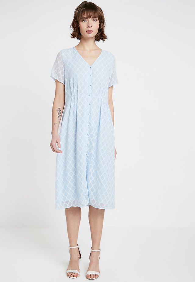 KALLIMA DRESS - Shirt dress - light blue