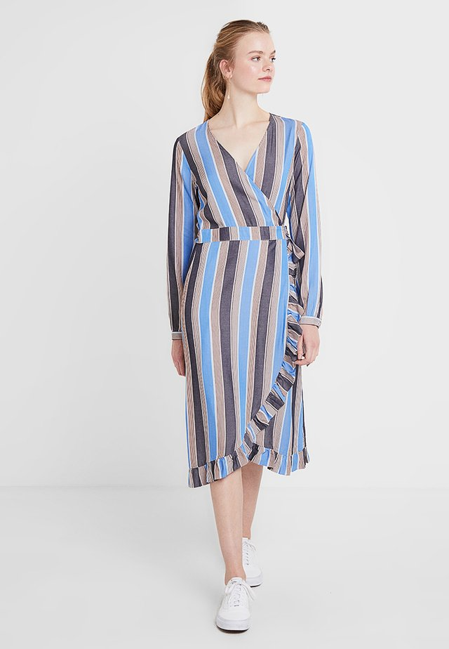 JEMIMA DRESS - Sukienka letnia - blue/brown