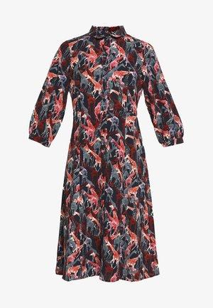 NUABIAH DRESS - Skjortekjole - sapphire