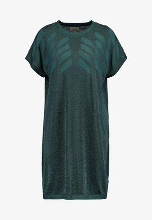 NUROSEVILLE DRESS - Strikket kjole - atlantic deep