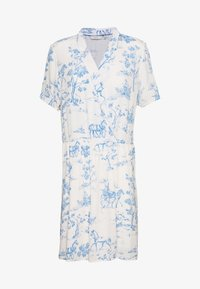 Nümph - NUARZILLA DRESS - Kjole - blue/off-white - 4