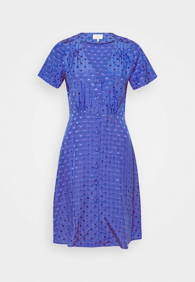 NUBRANDALL DRESS - Freizeitkleid - blue