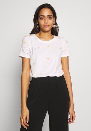 NUCUPERTINO - Print T-shirt - pristine