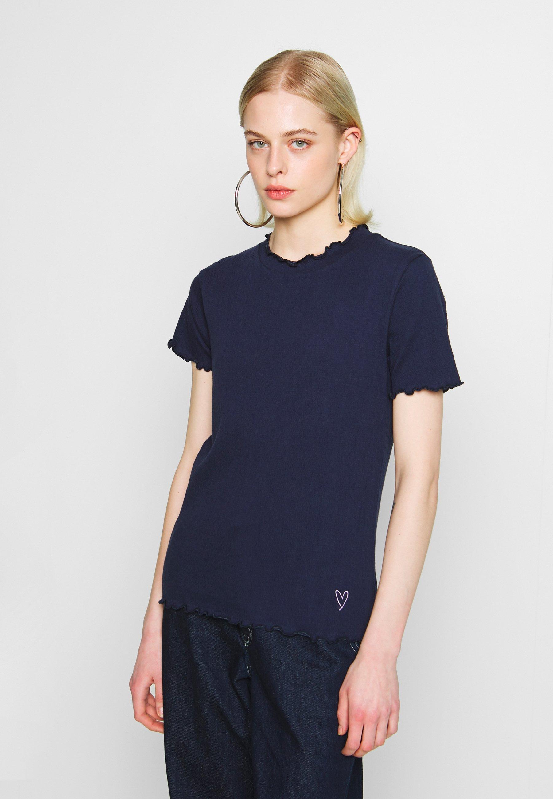 Nümph NUAVONLEA - T-shirts med print - sapphire