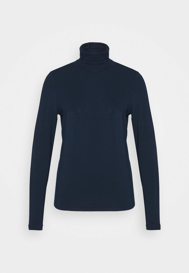 NUBOWIE ROLLNECK - Långärmad tröja - dark sapphire