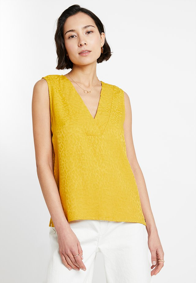 LALLY BLOUSE - Blouse - mustard yellow