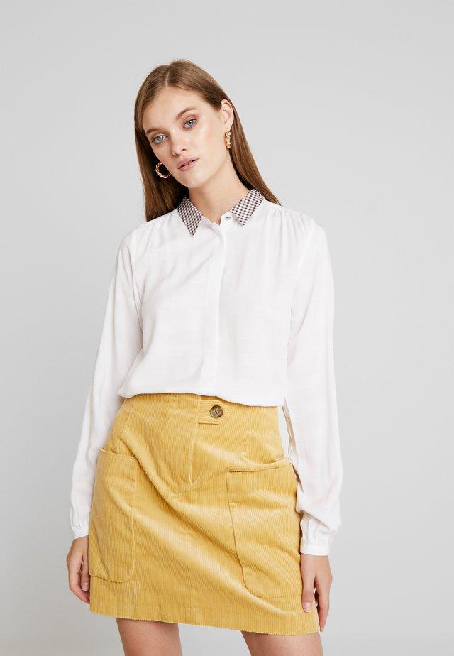 MACEY - Button-down blouse - pristine