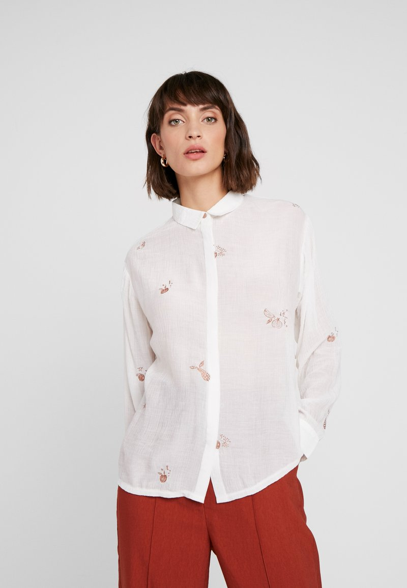 Nümph - NUMETHAVEN SHIRT - Košile - pristine
