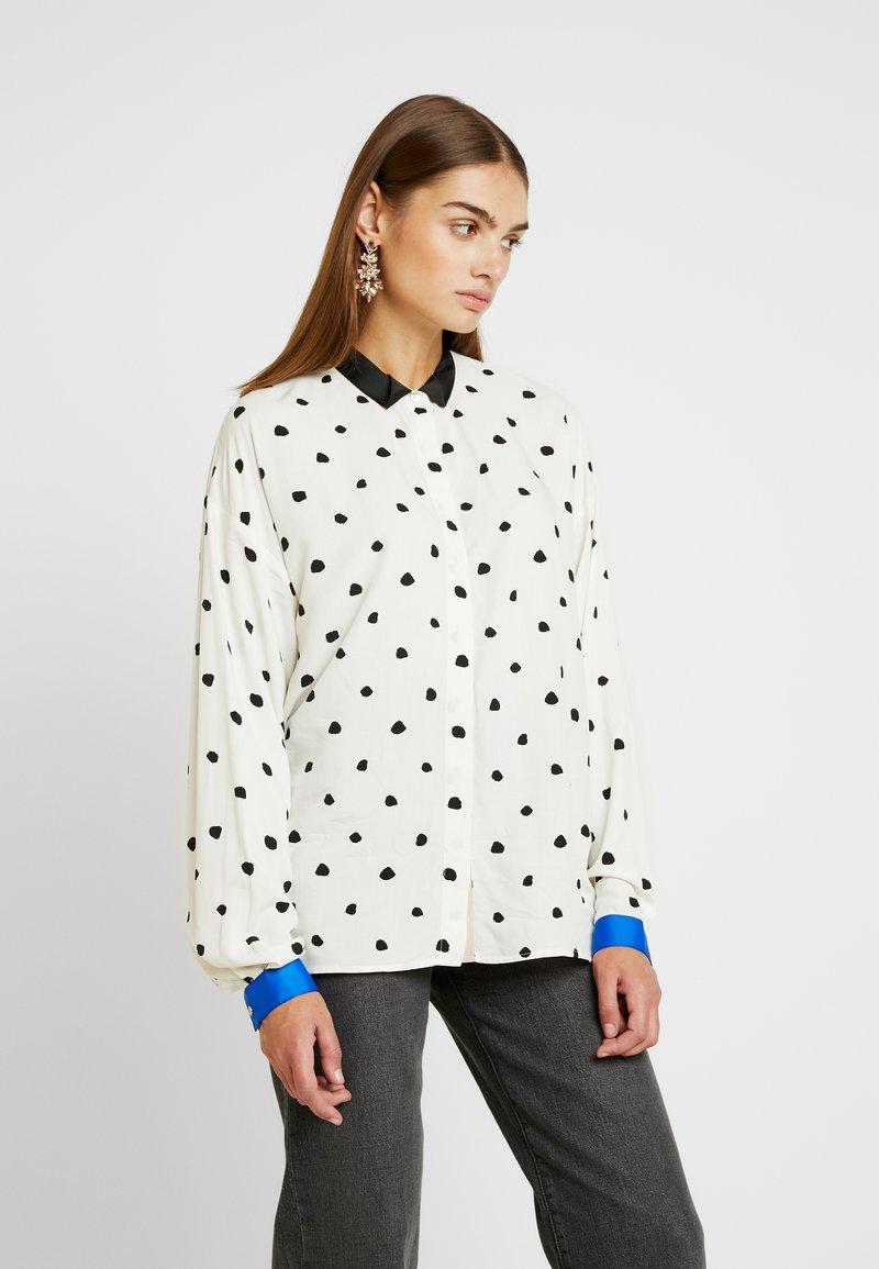 Nümph - NUMEDIRA - Button-down blouse - pristine