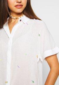 Nümph - ALAYNA JOCELYNN - Košile - bright white - 5