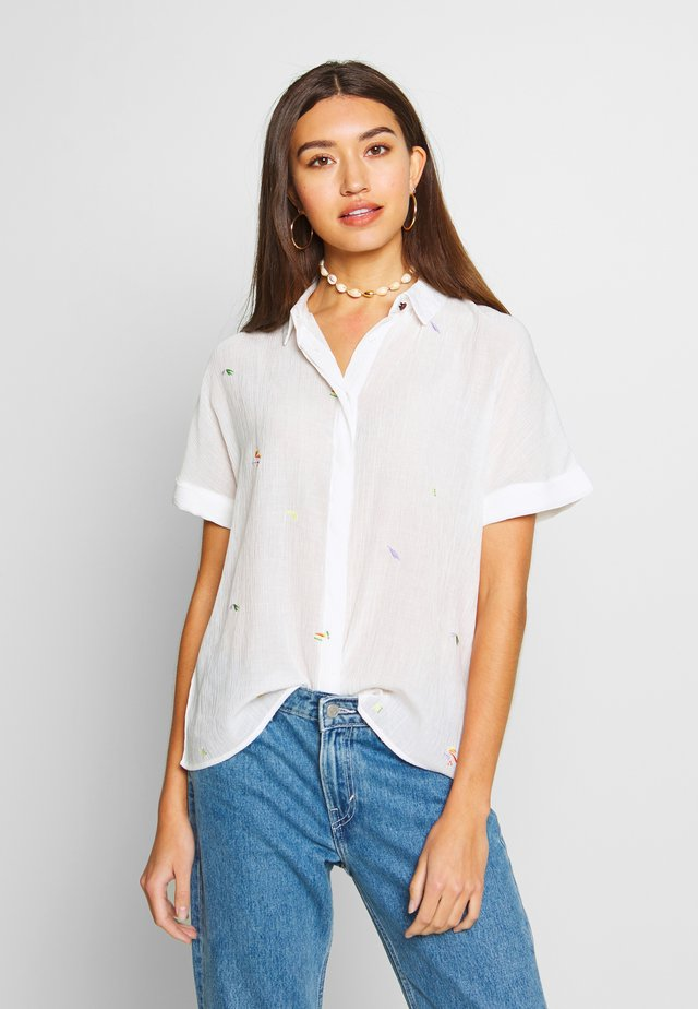 ALAYNA JOCELYNN - Button-down blouse - bright white