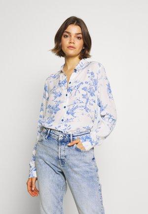 NUARZILLA SHIRT - Overhemdblouse - blue