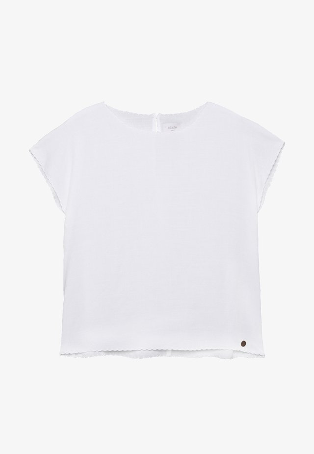 NUBATILDA BLOUSE - Bluzka - off-white