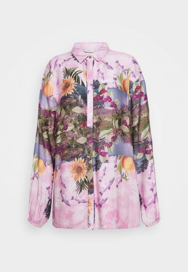 NUBAYLEAH - Button-down blouse - lilac