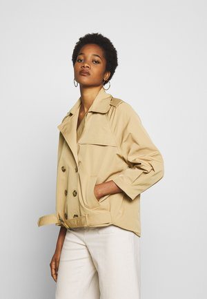 NUAVALYN JACKET - Summer jacket - tannin