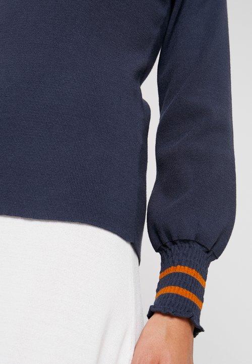 Nümph MEHIRA - Sweter - ombre blue Odzież Damska USNL-GC6 dobrze rozwinięty