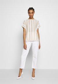 Nümph - NUACANTHA - Print T-shirt - cloud dancer - 1