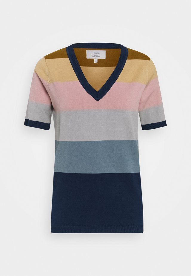 NUBLAISE - T-shirt imprimé - multi-coloured
