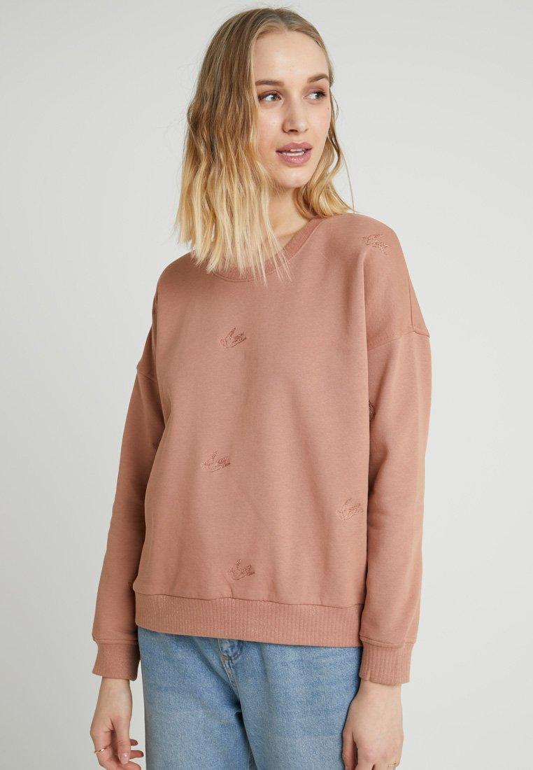 Nümph - KAIMANA - Sweatshirt - mocha mousse