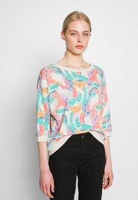 Nümph - NUBRIGHED BLOUSE - Sweatshirt - pristine - 0