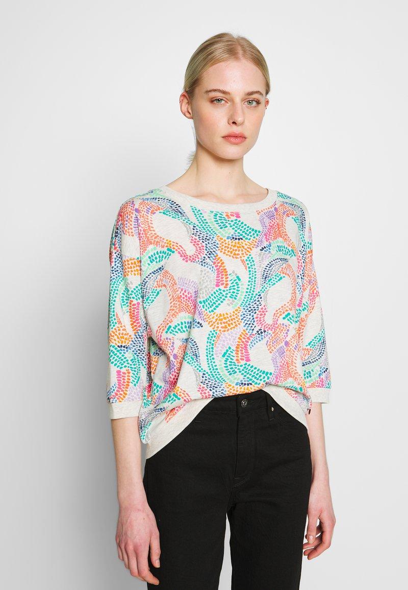 Nümph - NUBRIGHED BLOUSE - Sweatshirt - pristine