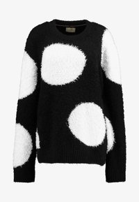 Nudie Jeans - HAMPUS - Sweter - black - 4