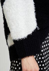 Nudie Jeans - HAMPUS - Sweter - black - 5