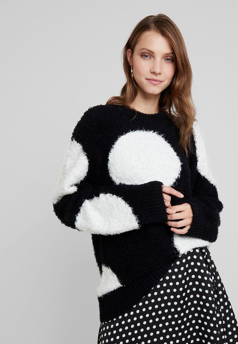 Nudie Jeans - HAMPUS - Sweter - black