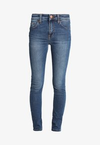 Nudie Jeans - HIGHTOP TILDE - Jeansy Skinny Fit - blue stellar - 4